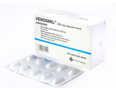Venosmil 60 capsules
